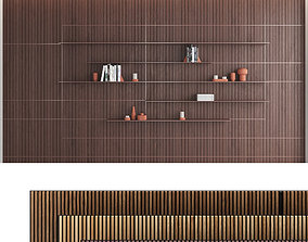 3D Decorative wall panel set 10
