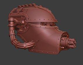 3D printable model Giant Robot Spitfire Head