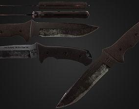 Chris Reeve Neil Roberts Warrior Knife 3D asset
