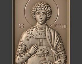3D print model Orthodox Christian Icon of George the