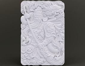 Warrior Relief 3D printable model