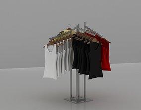 clothing rack 3D model