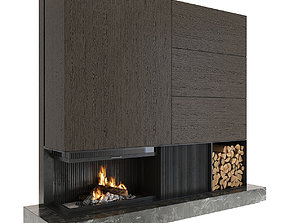 accessories Fireplace 3D model
