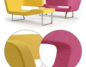 3D model Mminterier Chaise longue