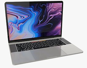 New Gen MacBook Pro - PBR 3D model
