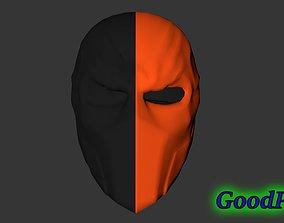 3D printable model Deathstroke Helmet v2