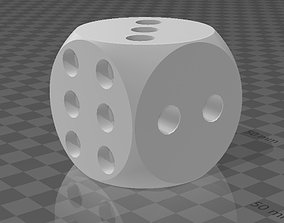 Dice for games 3D model