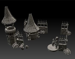 Salvager Ramparts Full Set Printable Terrain