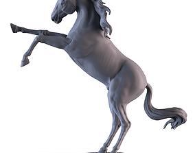 3D printable model Horse Sculpture silver
