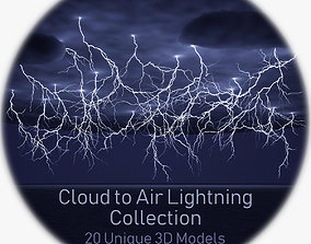 vray Realistic 3D Lightning Collection CA-01 - 20