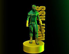 KICK ASS 3D print model