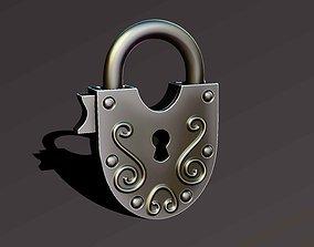 simple lock 3D printable model