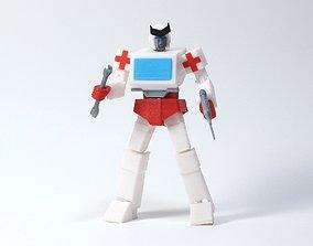 G1 Transformers Ratchet - No Supports 3D print model