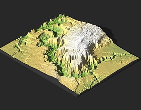 3D MODEL OF GRAND CANYON FOR CNC AND 3D PRINTING