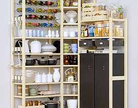 KitchenShelf collection 3D