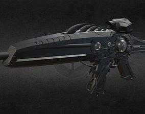low-poly Xm8-fortune15 Gun-weapon model