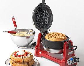 KitchenAid Artisan waffle maker 3D model