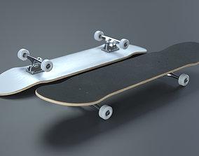 Skateboard - High Quality Realistic Skateboard 3D