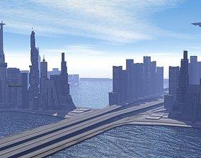 miami city 3D asset