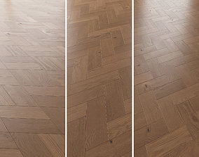 3D Parquet Oak Nut Brushed set 5