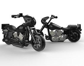 3D print model Motorcycle custom