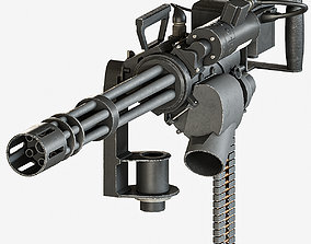 3D model M134 machinegun
