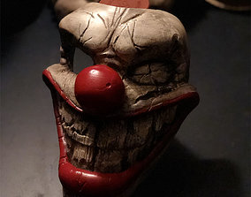 Twisted Metal Killer Clown Mask 3D print model