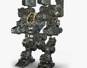 Robot Warrior 3D model