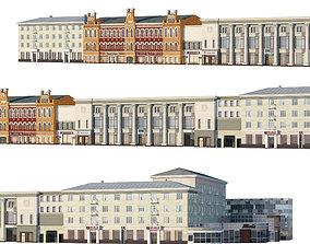 Voronezh - Revolution Avenue 3D model