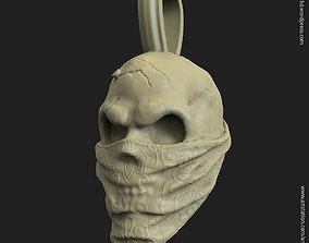 3D print model Skull gangster vol2 pendant