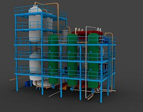 3D refinery unit hydrocracker