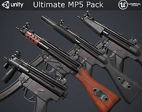 Ultimate MP5 Pack 3D asset realtime
