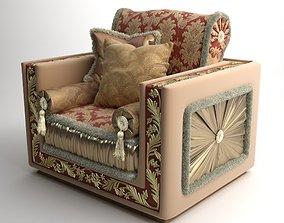 3D Ornate Armchair Bacci Stile 450