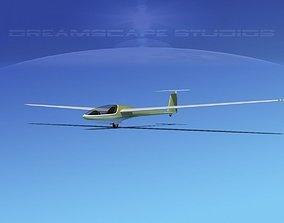 DG-400 15-Metre Motorglider V12 3D model