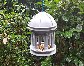 Gazebo Bird Feeder 3D print model