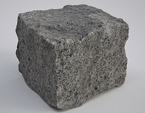 3D model VR / AR ready Paving Stone