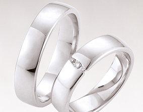 3D printable model Wedding ring 215
