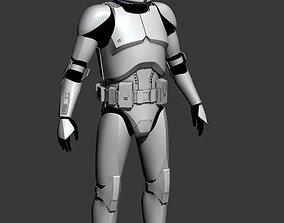 Clone Trooper Cosplay Armor 3D print model