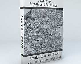 Gaza Strip Streets and Buildings 3D model