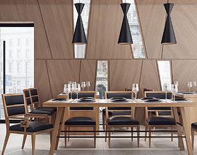 modern 3D Restaurant