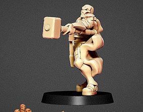 Fulcrum Warforged warrior 3D printable model
