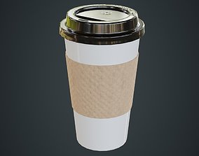 Paper Coffee Cup 2A 3D model