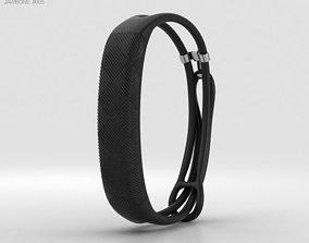 3D model Jawbone UP2 Black Diamond Lightweight Thin Straps