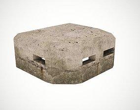 Old bunker 3D model