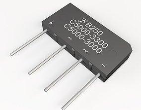3D model diode bridge