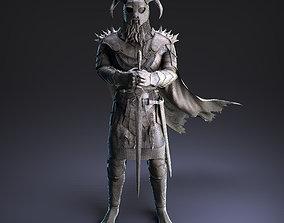 3D model Scandinavian Warrior