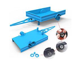 3D printable model Trailer automobile