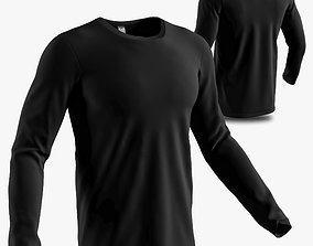 3D model long sleeve shirt