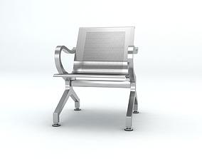 Waiting Chair 3D