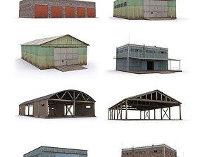 3D asset Pack-Hangar